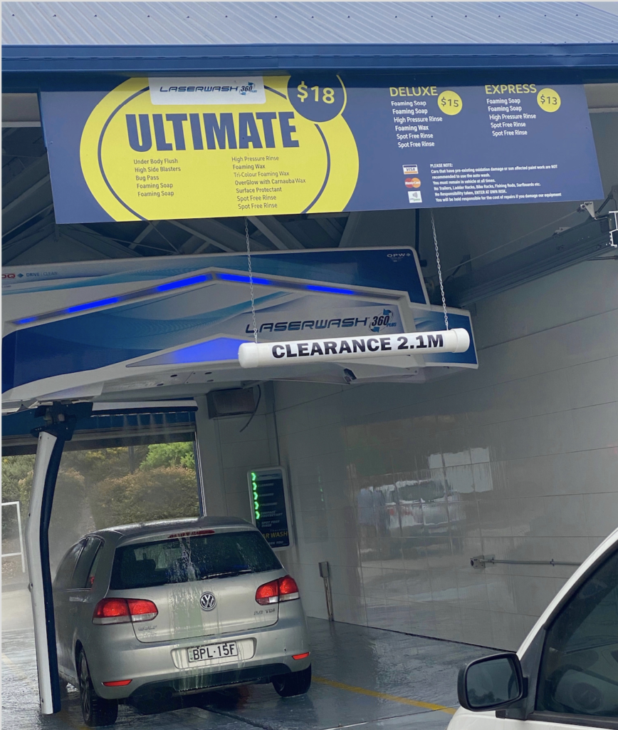 Thornton Car Wash | Touchless Automatic Car Wash Thornton NSW