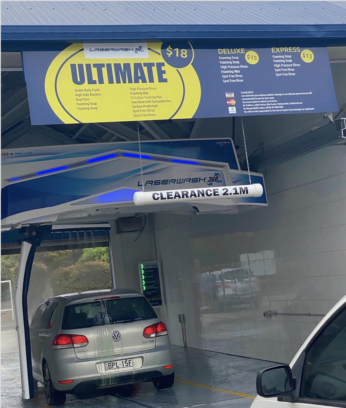Thornton Car Wash | Touchless Automatic Car Wash Thornton NSW